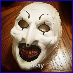 The Terrifier Mask Art the Clown Mask