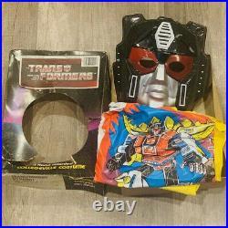 Transformers Dynabot costume mask Ben Cooper vintage 1984 Hasbro collegeville