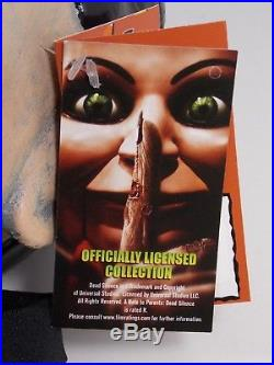 Trick Or Treat Studios Dead Silence Billy Life Size Doll Puppet Halloween