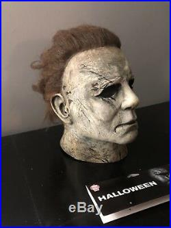 Trick or Treat Studios 2018 Halloween Michael Myers Mask Custom Repaint Tots