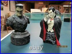 Universal Monsters Frankenstein & Dracula Creatures of the Night Series