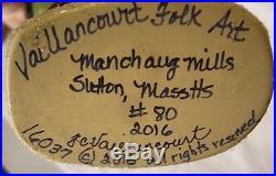Vaillancourt Nurnberg Rauschgoldengel Santa Signed