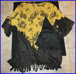 VINTAGE 1920'S/1930'S HALLOWEEN COSTUME SCARECROW HOME MADE WithHAT