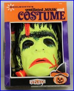 VINTAGE BEN COOPER WOOLWORTH'S Frankenstein Monster HALLOWEEN COSTUME