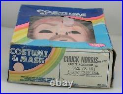 VINTAGE HALLOWEEN BEN COOPER COSTUME 1985 CHUCK NORRIS KARATE KOMMANDO in BOX