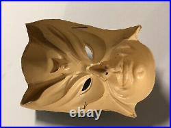 VTG Batman The Bat 1960s Collegeville RARE Halloween Costume Box Plastic Mask