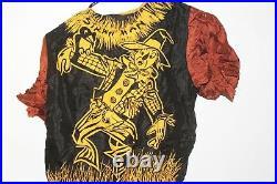 Vintage 1950s Disney Scarecrow Ben Cooper Halloween Costume Mask withBox Wizard Oz