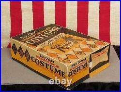Vintage 1958 Ben Cooper Koo Koo Clock Slinky Halloween Costume Complete with Box