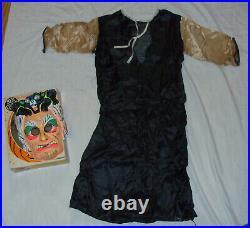 Vintage 1960s BRIDE OF FRANKENSTEIN Halloween Costume BEN COOPER Monster COMPLET