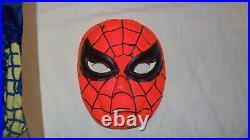 Vintage 1963 SPIDERMAN HALLOWEEN COSTUME Ben Cooper 1st MARVELMANIA COLLECTIBLE