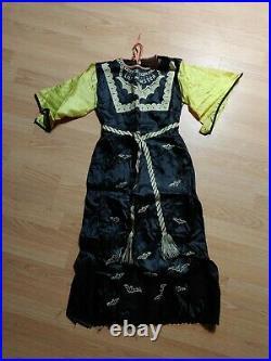 Vintage 1964 Ben Cooper Lily Munster Halloween Costume