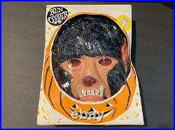 Vintage 1966 Dated Ben Cooper Wolfman Halloween Masquerade Costume and Mask #894