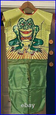 Vintage 1973 Ben Cooper Creature People Frogman Costume Medium Great Condition