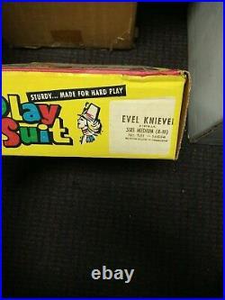 Vintage 1974 Ben Cooper Evel Knievel Sturdy Playsuit