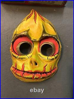 Vintage 1975 Ben Cooper Land Of The Lost Halloween Sleestak Costume SZ Large