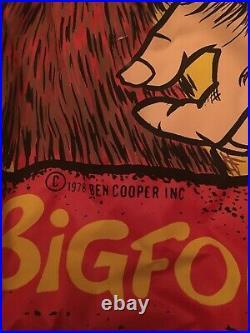 Vintage 1978 Ben Cooper Halloween Mask And Costume Bigfoot Very Rare