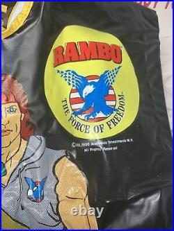 Vintage 1985 Rambo Collegeville Halloween Mask Outfit Rare New Unused