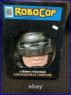 Vintage 1987 ROBOCOP Halloween Costume COLLEGEVILLE