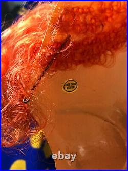 Vintage 60s 70s Clown Costume Lot (x10) Mask Pants Nose Ear Cigar Tie bowtie
