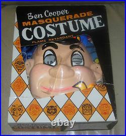 Vintage Barnacle Bill Halloween Costume Ben Cooper C. 1963 Popeye Sailor