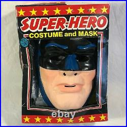 Vintage Batman 1976 Ben Cooper Halloween Costume in Box DC Comics Superhero Rare