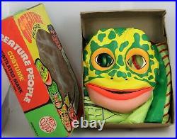 Vintage Ben Cooper Halloween Monsters Creature People Frogman Costume Med