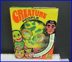 Vintage Ben Cooper Halloween Monsters Creature People Frogman Costume Med Sealed