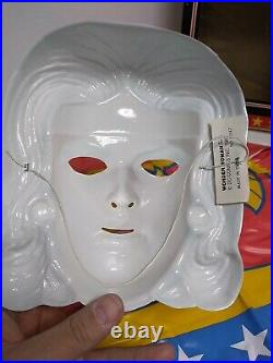 Vintage Ben Cooper Wonder Woman Costume And Mask Great Shape