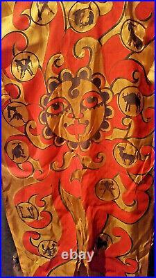 Vintage Halco Halloween Costume Zodiac Aquarius Mask Ben Cooper Collegeville