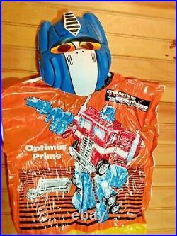 Vintage Optimus Prime Transformers Collegeville Kid's M Costume 1984 Hasbro Rare