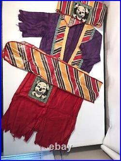 Vintage Pirate Costume The Mardi Gras Of America New Orleans Felix Cat Halloween