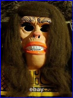 Vintage Rare 1974 Planet Of The Apes Costume And Mask (lisa) By Ben Cooper