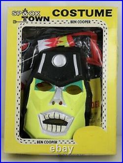Vintage Spooky Town Costume Galactic Raider Large Ben Cooper