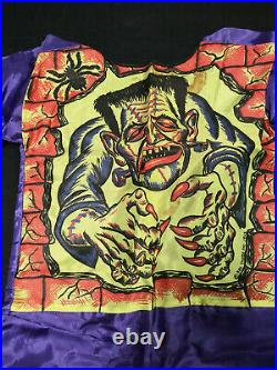 Vintage THE MONSTER Ben Cooper Halloween Costume LARGE 12-14 NO Mask in Box