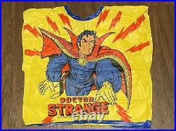 Vtg 1978 Ben Cooper Dr. Strange Halloween Marvel Costume Plastic Shirt