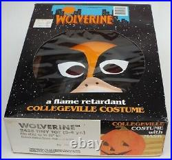 WOLVERINE X-Men Flame Retardant Collegeville Costume Marvel Comics Collectible