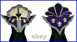 Wow Mardi Gras Capelet Costume New Orleans Katherine's Collection 28-628016