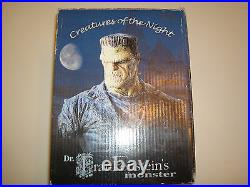 Wyrmtown statuary Dr. Frankenstein's monster. Creatures of the night