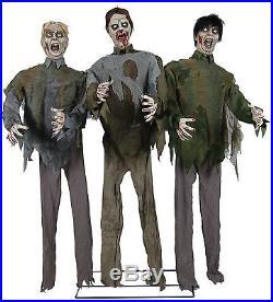 Zombie Horde Animated Halloween Prop